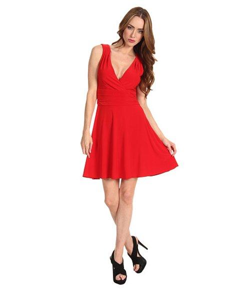 Zac Posen V-Neck Dress by Z Spoke in If I Stay