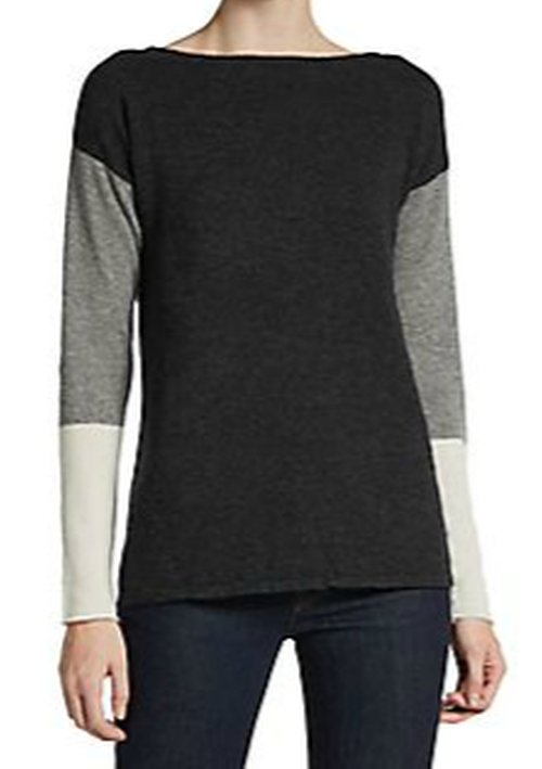 Cashmere Colorblock Pullover by Cullen in Pretty Little Liars