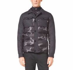 Camo Puffer Jacket by Michael Kors in The Fate of the Furious