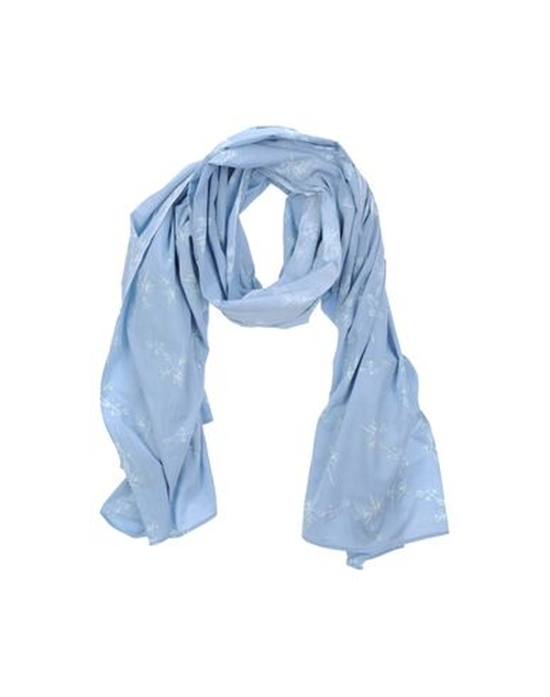 Plain Weave Oblong Scarf by Baik in Whiskey Tango Foxtrot