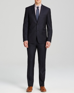 Slim Fit Luxe Solid Suit by John Varvatos in We Are Your Friends
