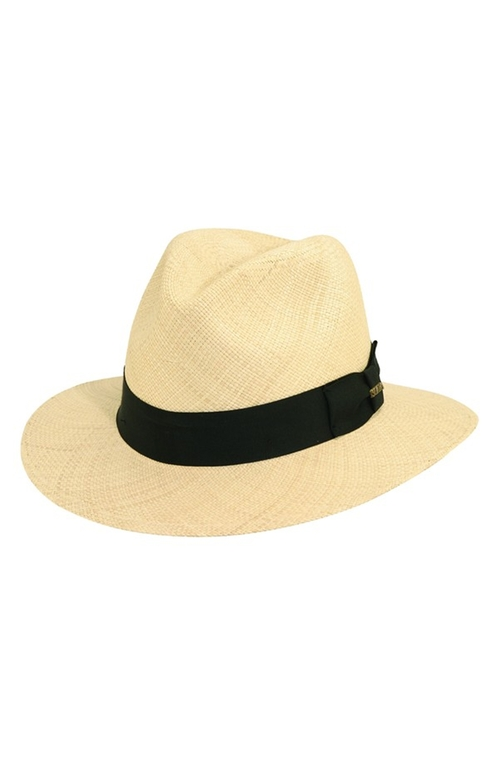 Panama Straw Safari Hat by Scala in We Are Your Friends