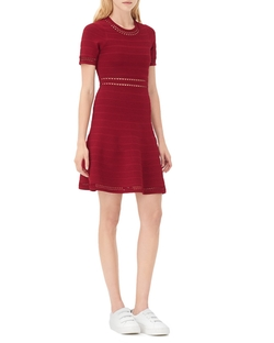 Riley Fit & Flare Dress by Sandro in Arrow