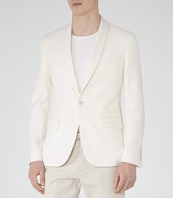 Shawl Collar Blazer by Jake B in Spy