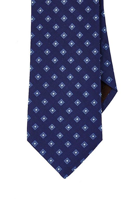 Diamond-Pattern Necktie by Michael Kors in Spotlight