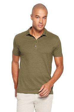 'Fontana' Regular Fit, Cotton Layered Placket Polo Shirt by HUGO BOSS in Million Dollar Arm