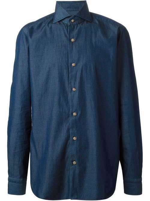 Liu Chambray Shirt by Barba in Night at the Museum: Secret of the Tomb