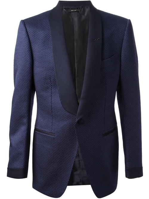 Patterned Blazer by Tom Ford in Furious 7
