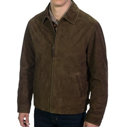 Wool Lined Goat Suede Jacket by Golden Bear in Steve Jobs