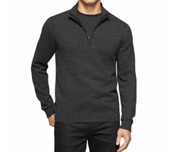 Men's Mock-Collar Sweater by Calvin Klein  in Keeping Up with the Joneses
