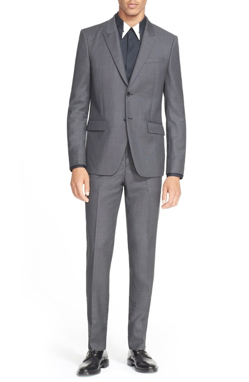 Wool Suit by Givenchy in Elementary - Season 4 Episode 7