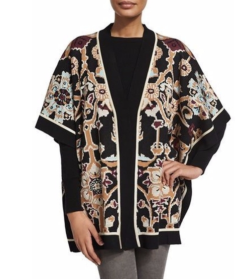 Rabina Tapestry-Print Kimono by Ronny Kobo in The Boss