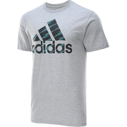 Men's Adi Logo Shockwave T-Shirt by Adidas in Ballers