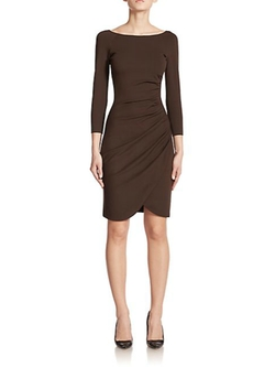 Ruched Jersey Sheath by Armani Collezioni in Bridge of Spies