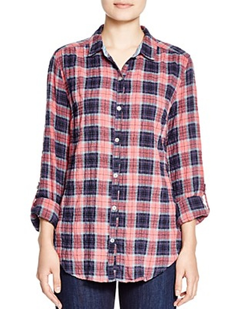 Plaid Button-Down Shirt by 4our Dreamers in Brooklyn Nine-Nine - Season 3 Episode 7