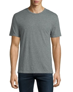 Classic Short-Sleeve Crewneck T-Shirt by T by Alexander Wang in Ballers