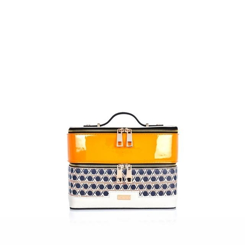 Geo Print Vanity Case by River Island in Me Before You