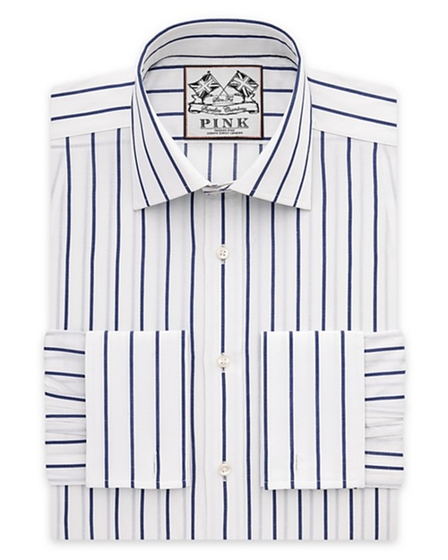 Alford Stripe Dress Shirt by Thomas Pink in The Spy Who Loved Me