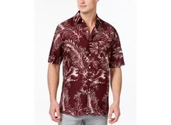 Leaf Print Short-Sleeve Shirt by Tasso Elba  in Neighbors 2: Sorority Rising
