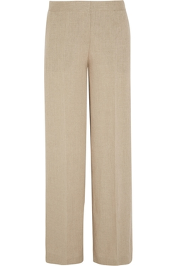 Grinetta Linen Wide Leg Pants by Theory in Wanted