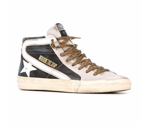Slide Hi-Top Sneakers by Golden Goose Deluxe Brand in Fuller House - Season 1 Episode 12
