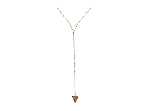 Mika Lariat Necklace by Gorjana in Modern Family - Season 7 Episode 3