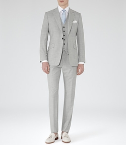 Peak Lapel Three Piece Suit by Garda in Mr. & Mrs. Smith