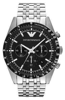 Chronograph Bracelet Watch by Emporio  Armani in The November Man