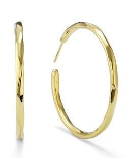 Thin Glamazon Hoop Earrings by Ippolita in Focus