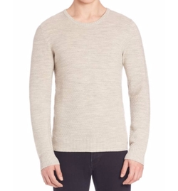 Lenox Go Structure Merino Wool Sweater by J. Lindeberg in Empire