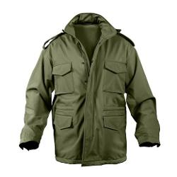 Soft Shell Tactical M-65 Olive Drab Jacket by Rothco in The Expendables 3