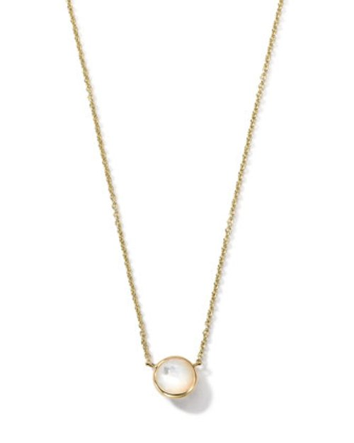 Gold Mini-Lollipop Birthstone Necklace by Ippolita in The Best of Me