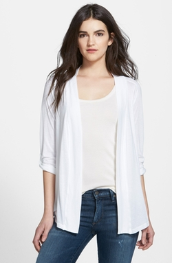 Open Front Jersey Cardigan by Splendid in Side Effects