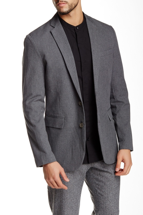Two Button Blazer by Shades Of Grey By Micah Cohen in New Girl