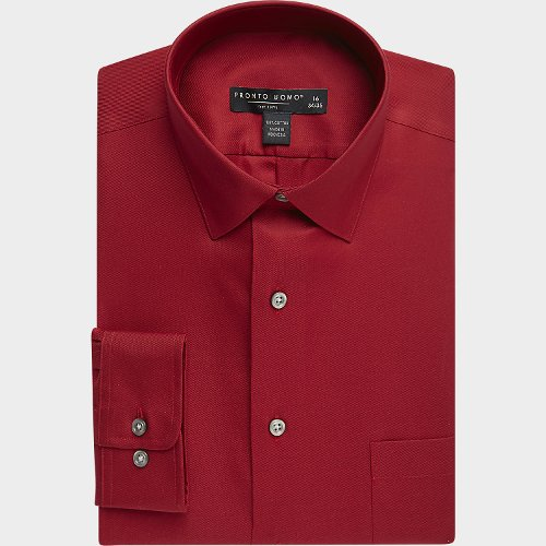 Slim Fit Non-Iron Dress Shirt by Pronto Uomo in John Wick