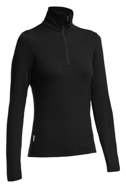 Women's Tech Top Long Sleeve Half Zip Top by Icebreaker in Keeping Up With The Kardashians