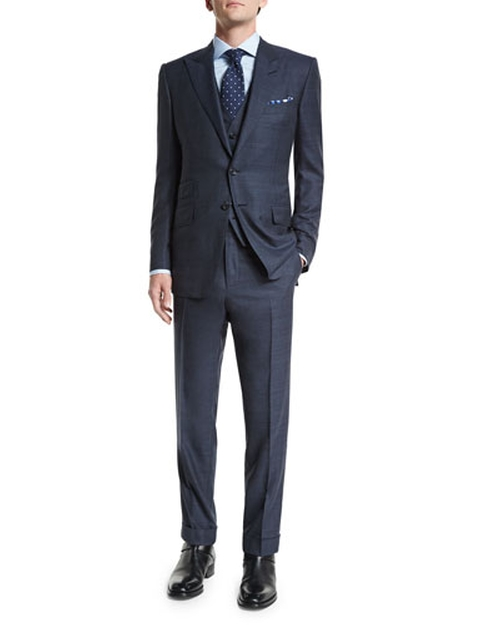 O'Connor Base Prince of Wales Suit by Tom Ford in Suits - Season 5 Episode 13