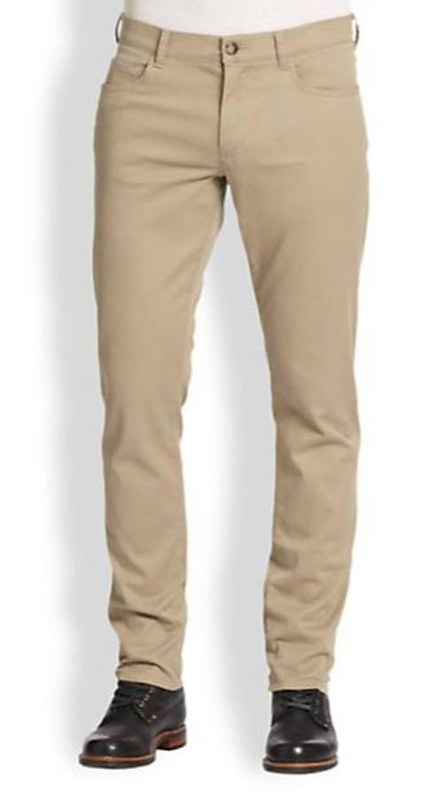 Five-Pocket Twill Trousers by Vince in Savages