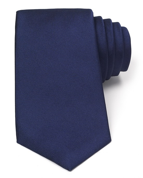Solid Rib Classic Tie by Turnbull & Asser in The Man from U.N.C.L.E.