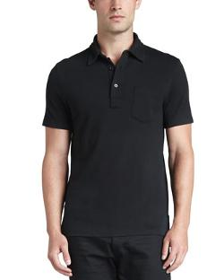 Patch-Pocket Polo by Ralph Lauren Black Label in Million Dollar Arm