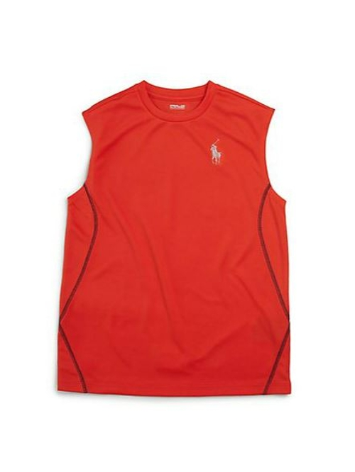 Big Pony Muscle Tee Shirt by Ralph Lauren in Cut Bank