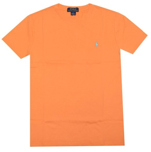 Boys Pony Logo Short Sleeve T-Shirt by Polo Ralph Lauren in Boyhood