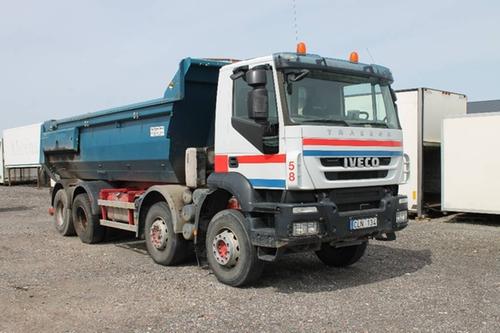 Trakker Dump Truck by Iveco in Point Break