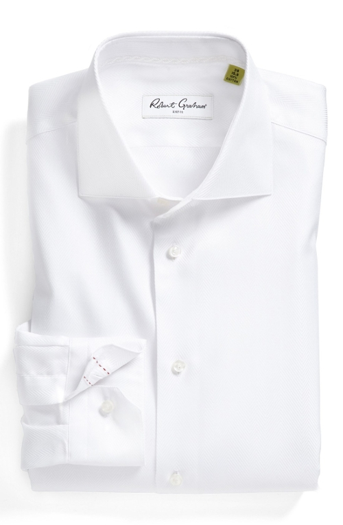 Regular Fit Dress Shirt by Robert Graham in Hot Pursuit