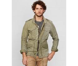 Washed Cotton Field Jacket by Denim & Supply Ralph Lauren in Sinister 2