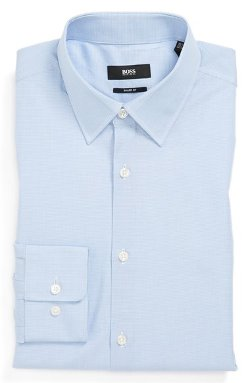 Marlow Sharp Fit Dress Shirt by Boss Hugo Boss in The Best of Me