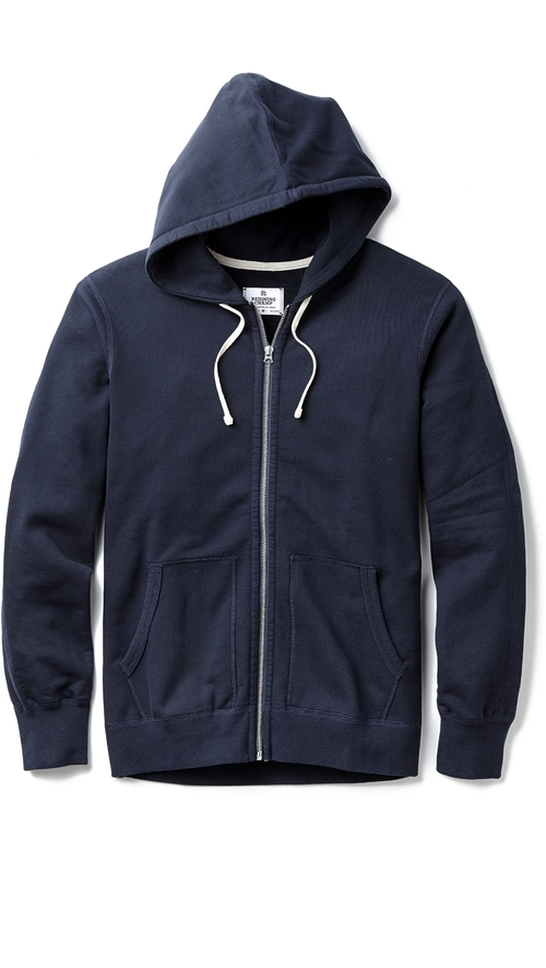 Mid Weight Terry Zip Hoodie Jacket by Reigning Champ in Furious 7
