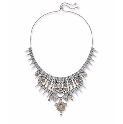Seraphina Crystal Bib Necklace by Kendra Scott in Will & Grace