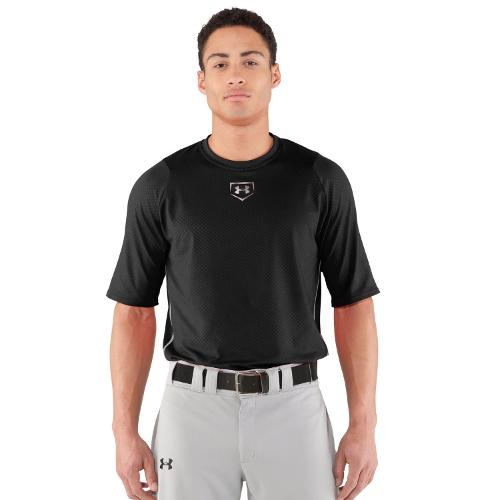 Men's UA Diamond Armour Baseball Short Sleeve Baselayer by Under Armour in Million Dollar Arm