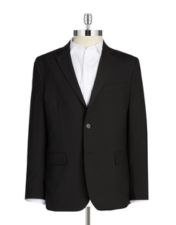 Solid Wool-Blend Blazer by Nautica in Elementary